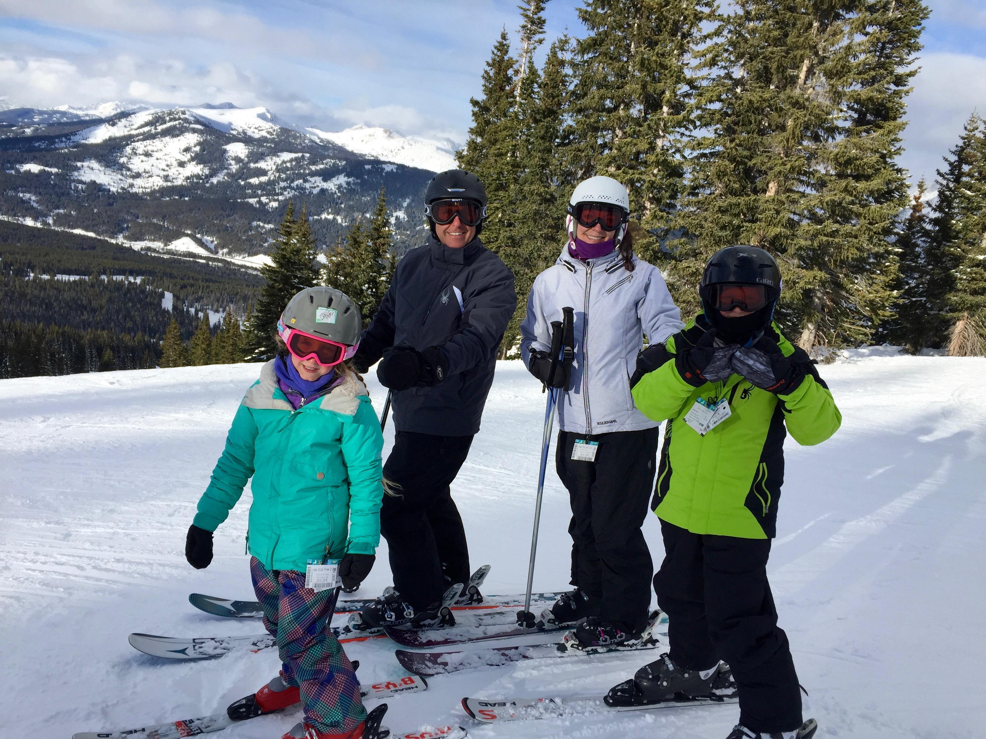 Family Ski, Family Travel, Family vacation, ski vacation, Copper Mountain