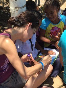 Servcation, family, roatan, giving back
