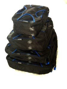 Packing cubes, luggage, travel packing, family travel,