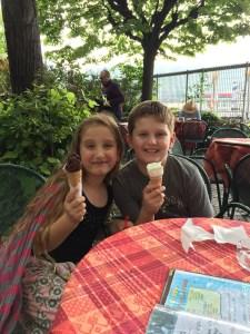 Lake Como Gelato, Family vacation gelato