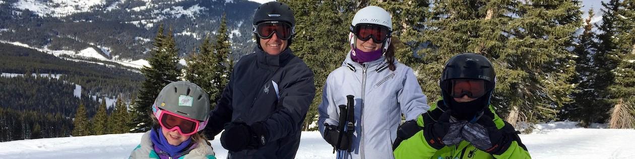Family Ski Trip, Family Ski Vacation, Family Ski Copper Mountain,