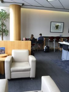 Charging up in the United Club terminal 7 LAX, United Club, LAX