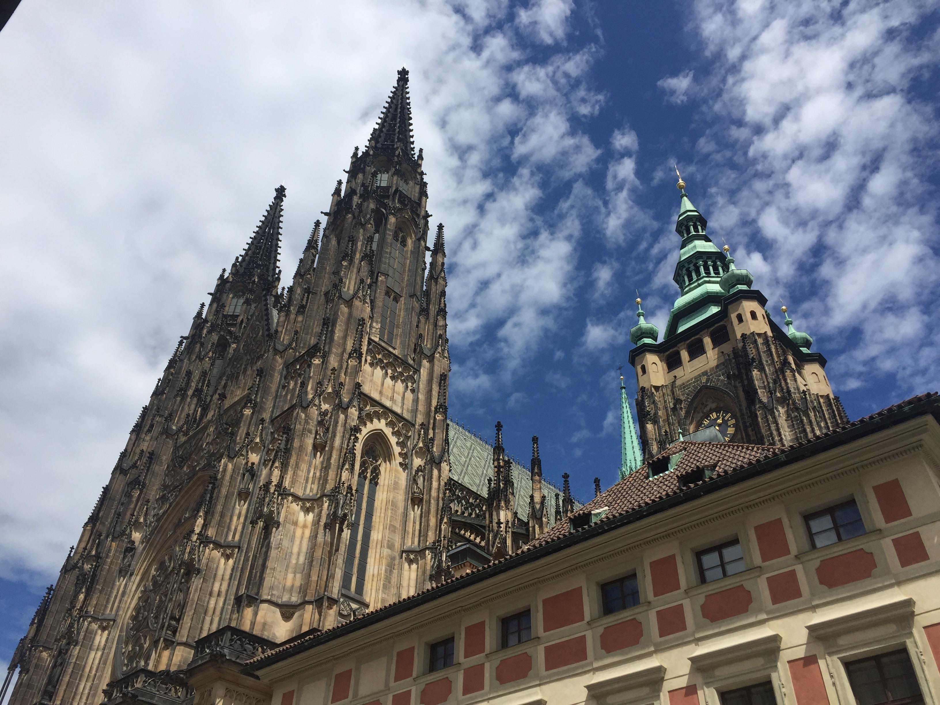 St. Vitus Cathedral, Prague Castle, Family vacation Prague