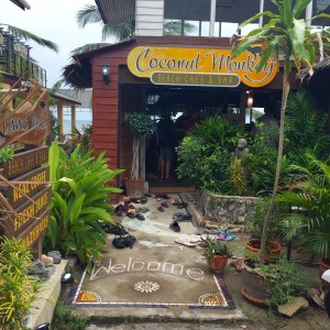 Best cafe Koh Tao, Coffee shop review Koh Tao, Coconut Monkey Beach Cafe and Bar Koh Tao, Favorite Coffee Shop Koh Tao