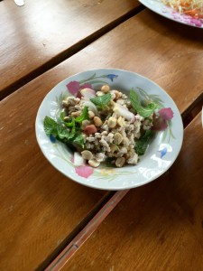 Lap Mu Salad, Thai House, Bangkok,