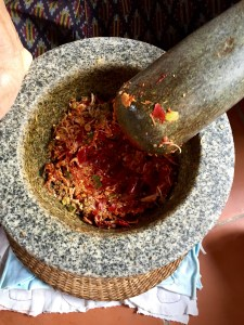 Mortar and Pestle, curry, Thai Food, Red Curry