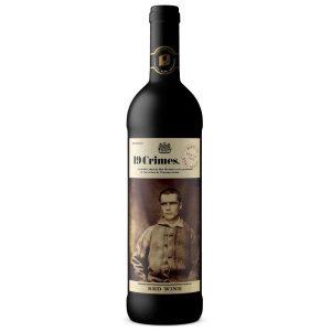19 Crimes Red Wine 75cl Bottle Living Label