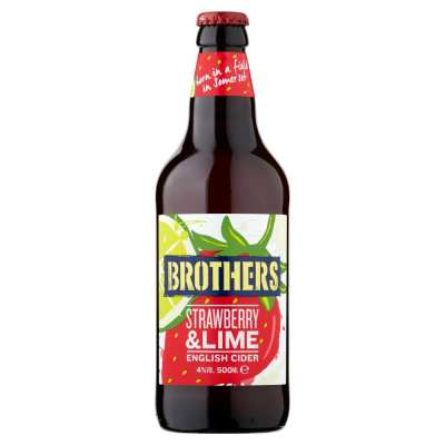 Brothers Strawberry & Lime Flavoured Cider