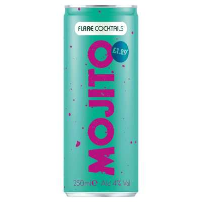 Flare Mojito Pre-Mixed Cocktail Cans
