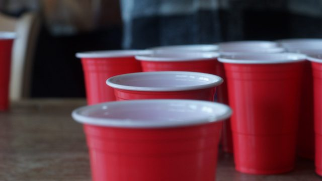 Red Plastic Solo Cups