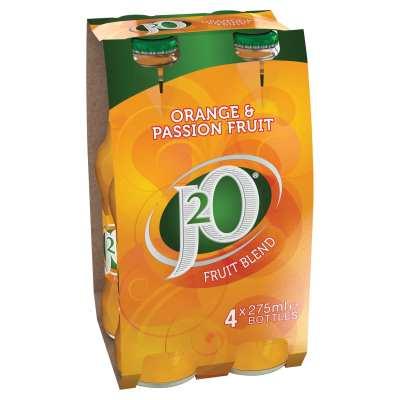 J20 Orange & Passionfruit Flavour Drink