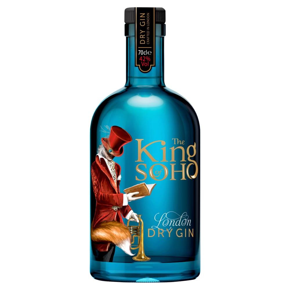 King Of Soho Gin Bottle