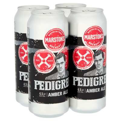 Marston's Pedigree Ale Cans