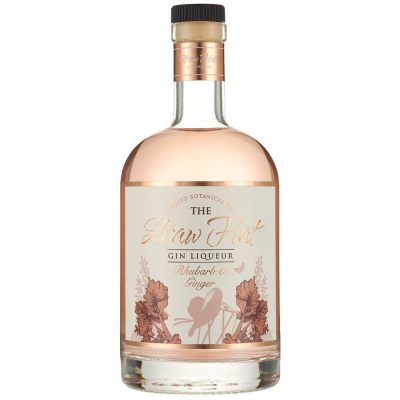 The Straw Hat Rhubarb & Ginger Gin Liqueur