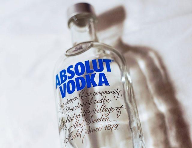 Absolut Vodka Bottle
