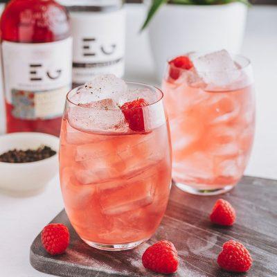 Edinburgh Gin Raspberry Gin Liqueur Cocktail Perfect Serve