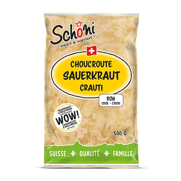 Schöni Sauerkraut roh 500g