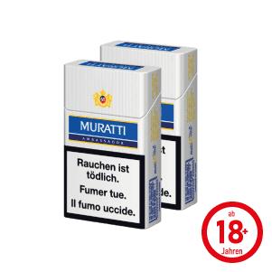 Muratti Ambassador Blue Box Zigaretten