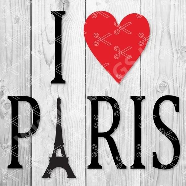love paris svg