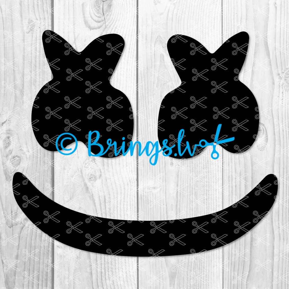 Marshmello SVG