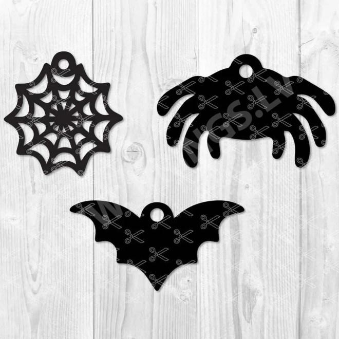 Halloween Earring SVG