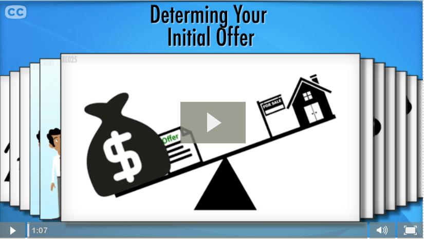 How Do I Determine The Initial Offer