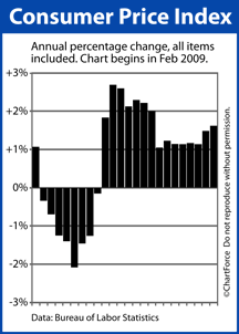 Consumer Price Index Feb 2009 - Jan 2011