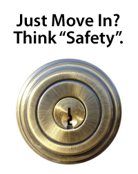Change your locks when you buy a new home