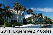 Most Expensive ZIP Codes