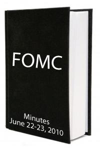 FOMC June 2010 Minutes