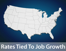 Jobs growth can influence mortgage rates