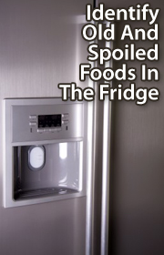 Throw out spoiled foods