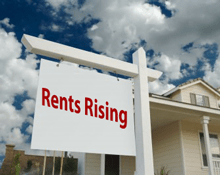 Rent is rising