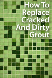 How to replace grout