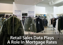 Retail Sales data shapes mortgage rates