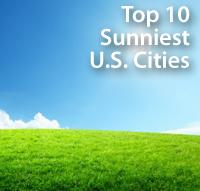 Sunniest US Cities