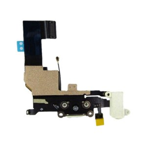 charging port flex cable for iphone 5s silver 2