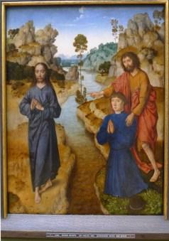 """""""Ecce agnus dei"""" (um 1462/64), Dieric Bouts d. Ä. (1410‐1475). Alte Pinakothek, München"""