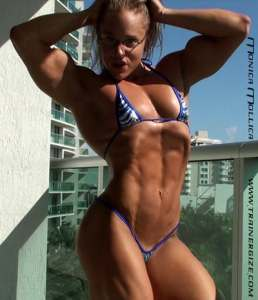 """BrinkZone Author Monica """"Brains and Body"""" Mollica shows what plenty of protein and hard work looks like"""