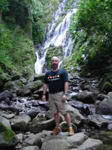 Hiking in jungle in Panama