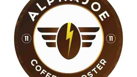 alpha joe coffee logo