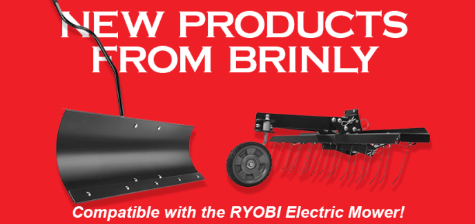 attachments for ryobi electric mower