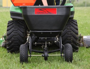 tow behind spreader 300x231 - Which lawn spreader is best for my job?