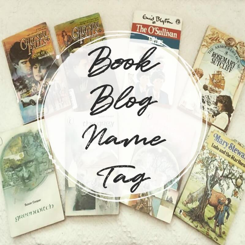 book blog name tag cover