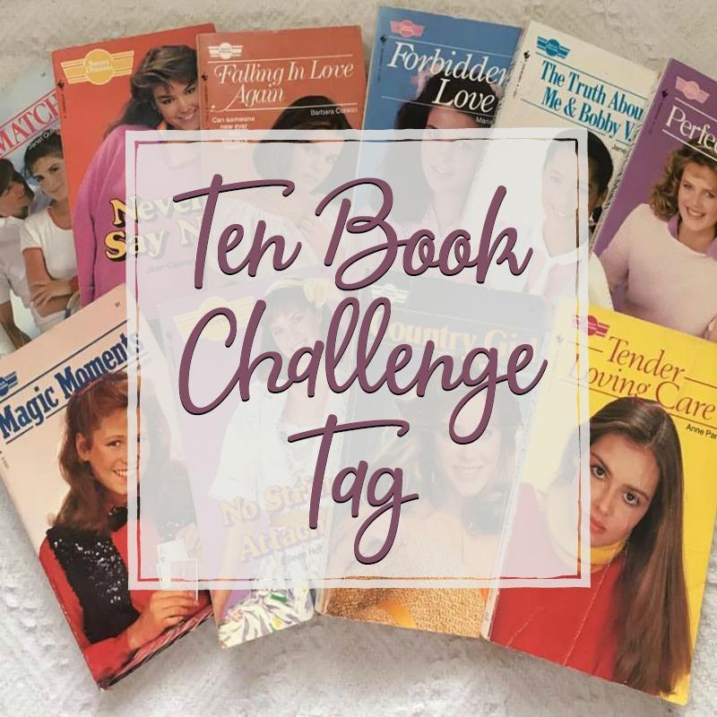 Ten Book Challenge Tag