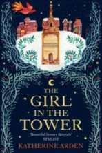 the girl in the tower katherine arden cover art bookshelves