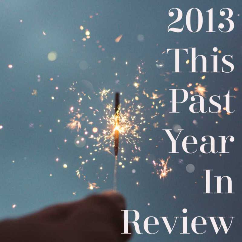 2013 – This Past Year in Review