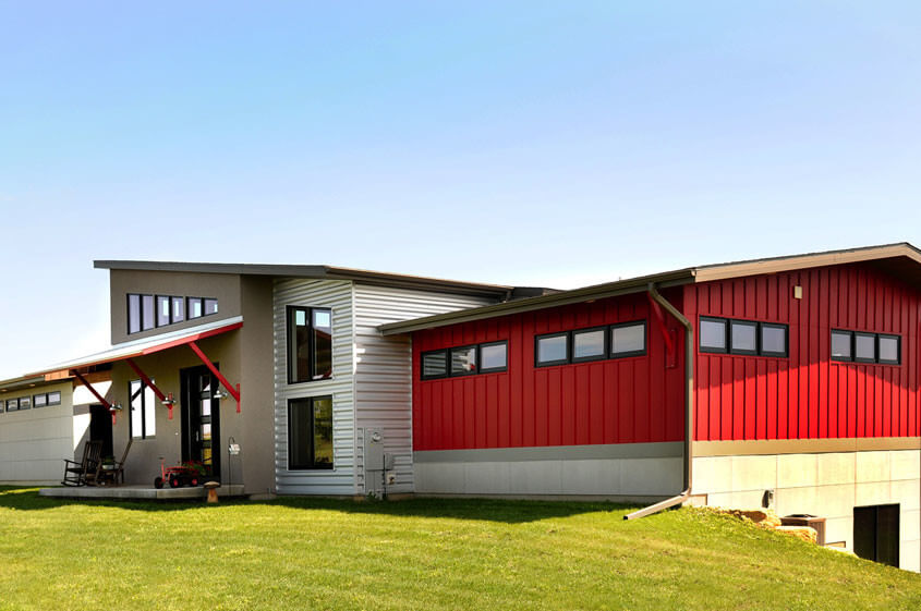 Industrial Homes Industrial Style Houses From Brio Madison WI