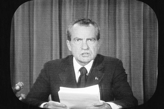 Richard Nixon Sock It Me