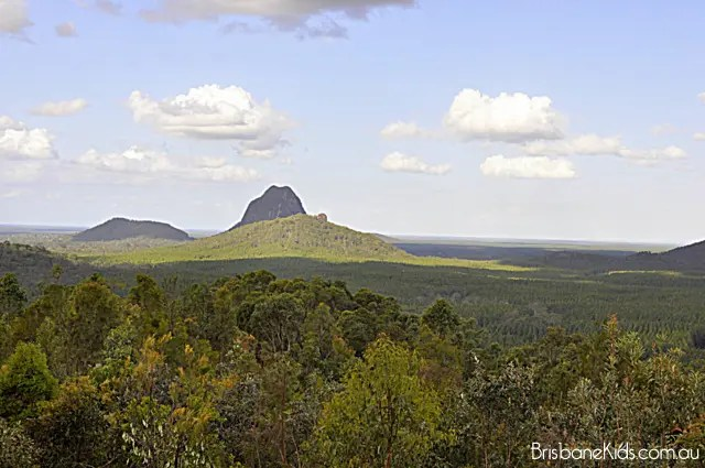 Explore Brisbane Glass House Mountains Lookout